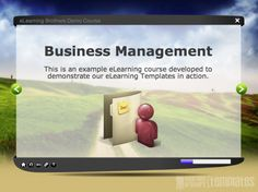 Lectora Inspire Example Course: Business - eLearning Brothers
