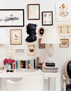 Lovely desk arrangement.