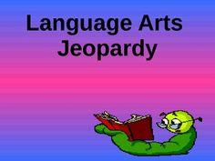 Kindergarten/ First Grade Review Language Arts Trivia Game