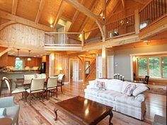 Mountain Haven - a Luxurious Timber Frame Home