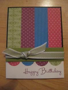 Handmade card....simple, but beautiful!