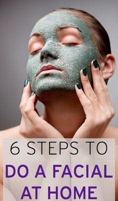 DIY facial: How to give yourself a facial at home