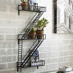 Fire Escape Shelf Unit