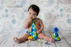 Baby Boy / Toddler First Birthday Cake  #
