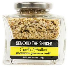 Garlic Shallot Sea Salt (2.8 oz) from Beyond The Shaker