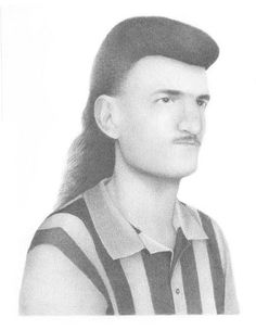 an epic mullet by Adrienne Kammerer