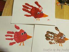 Handprint Birdies