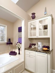 """Bathroom """"coffee Bar"""" Design, Pictures, Remodel, Decor and Ideas"""