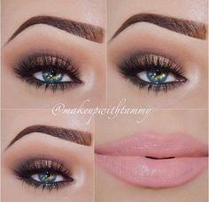 Sexy makeup look