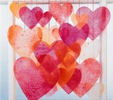 Crayon hearts from Martha Stewart #Valentines