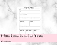 A4 small business, b