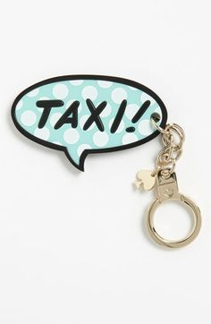 kate spade new york 'taxi' key ring available at #Nordstrom