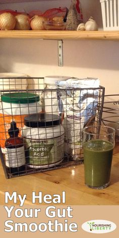 My Heal Your Gut Smoothie with resistant starch
