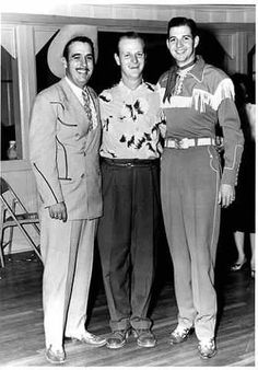 Tennessee Ernie Ford, Billy Briggs and Hank Thompson