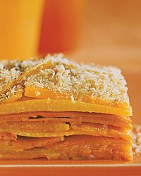 Sweet potato and pumpkin bake