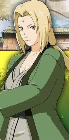 Tsunade (Godaime Hokage) One of my favorite characters from Naruto anime.