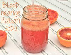 blood orange italian soda
