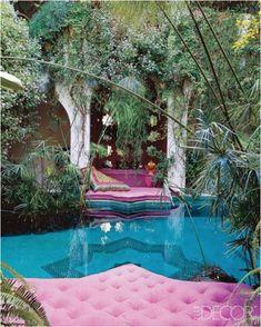 Boho Moroccan interior
