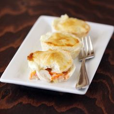 Mini Chicken Pot Pies Using The Babycakes Cupcake Maker