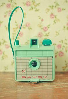 Vintage Mint Camera - Savoy