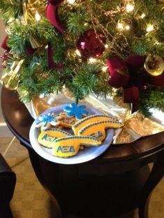 Alpha Xi Delta Cookies!