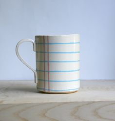 Notebook Paper Cup on Ceramic by MangoTreeCeramics on Etsy, $35.00  If someone would give me this for my birthday I would be so appreciative! Or the earrings. So cool!