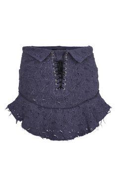 Shop Slate Blue Inny Skirt by Isabel Marant for Preorder on Moda Operandi