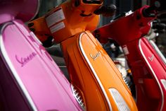 colors of vespa