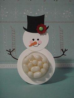 Snowman SU Sweet Treats Cup - bjl
