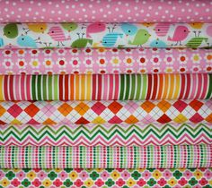 Girl Urban Zoologie and Remix Fabric by Ann Kelle by fabricshoppe, $22.00