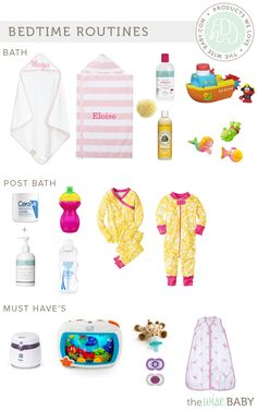 Baby Bedtime Routines - a peek inside our bedtime routine for a 7 month old and 2 year old + our fav products along the way!