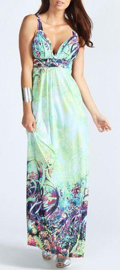 Mint Maxi Dress ♥ L.O.V.E.