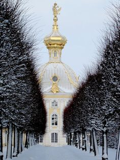 St. Petersburg, Russia, winter