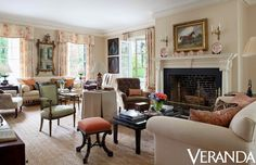 Amelia Handegan interior design, Greek Revival, Veranda July/aug 2013, photo by Max Kim-Bee