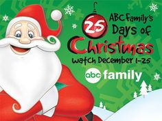 ABC Family's 25 Days of Christmas Schedule