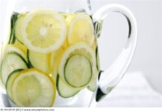 Cucumber-Lemon Water