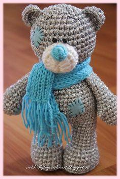 metallic teddy (18 cm)