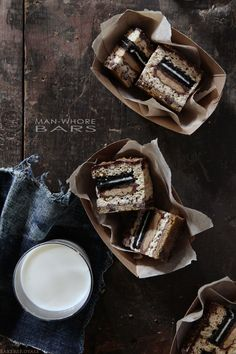 Man-Whore Bars from Bakers Royale...intriguing