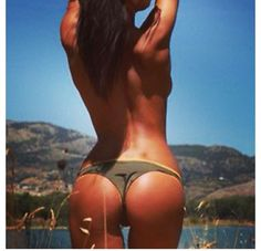 Every time I think I would love to have a butt like this, I do squats. 4 types of squats that are most effective for butt - see inside