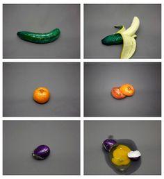 Disguised foods by Hika Rucho - http://www.hikarucho.com/