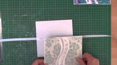 Gate Fold card with A2 Curved Borders One