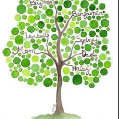 DIY Family tree.