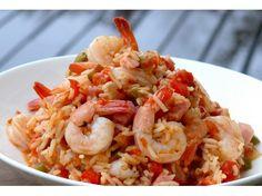 Jambalaya+with+Shrimp+and+Ham