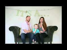 BEST gender reveal video ever. This made me cry. :)