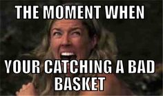 Ha! Catching a basket fear! #Cheer #Cheerleading #Funny #Worlds2014 #Cheerlife