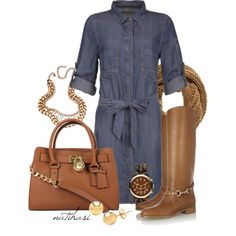 """Great Fall Outfit"" by natihasi on Polyvore"