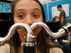 Bass clarinet moustache