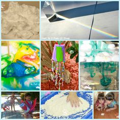 hands-on activities for kids to explore spring weather - easy to adapt and do in the classroom