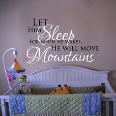 Sweet nursery saying for your babe. No source attached but can probably be made or found.