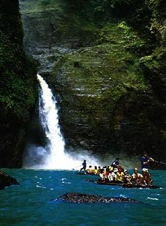 Pagsanjan Falls in Laguna, Philippines, that I visited this summer